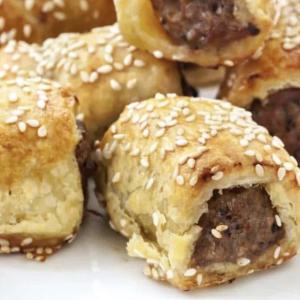 Mini Sausage Rolls - AZ Pie Guys